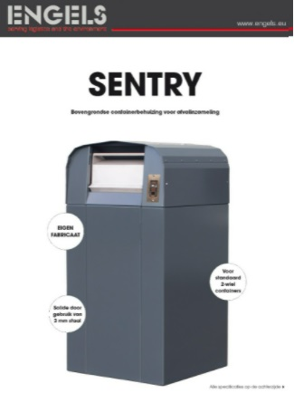 Sentry afvalcontainer