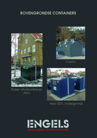 Bovengrondse afvalcontainers