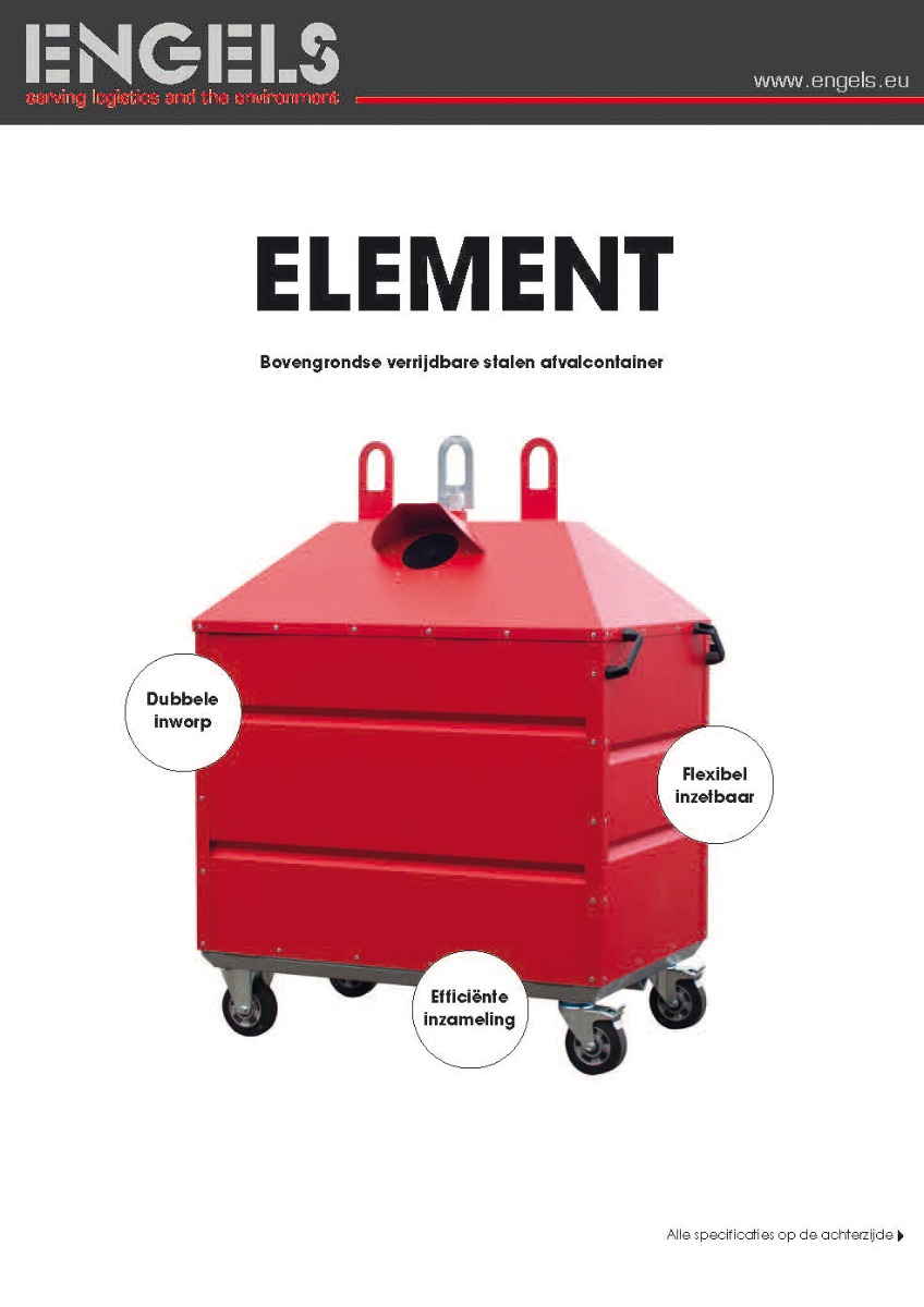 Element afvalcontainer