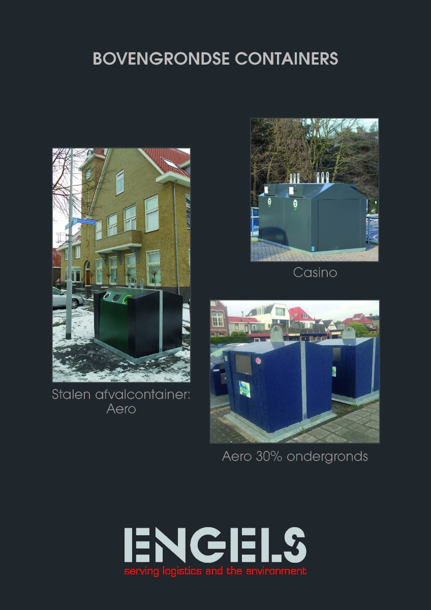 Engels Bovengrondse Containers